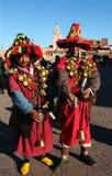 moroccan folk Arkivbilder