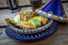 Moroccan food Royalty Free Stock Images