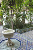 Moroccan fountain Royalty Free Stock Photography