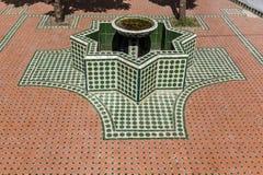 Moroccan fountain Royalty Free Stock Photos