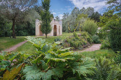 Moroccan garden copy in the park Royalty Free Stock Photography