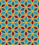 Moroccan geometric pattern. Vector seamless Stock Images