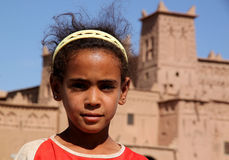 Moroccan girl Stock Photos