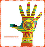 Moroccan hand A stock illustration