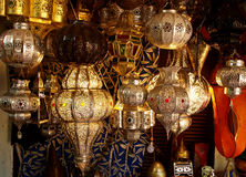 Moroccan handicraft Royalty Free Stock Photo