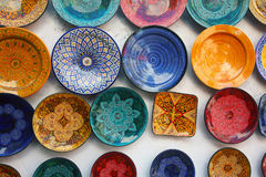 Moroccan handicraft Royalty Free Stock Images