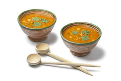 Moroccan harira soup Stock Photography