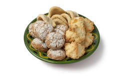 Moroccan homemade cookies Royalty Free Stock Photo