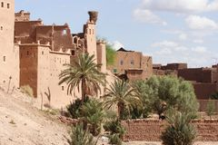 Moroccan houses Royalty Free Stock Photography