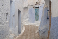 Moroccan Houses from Chefchaouen Stock Photography