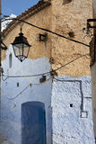 Moroccan Houses from Chefchaouen Royalty Free Stock Images