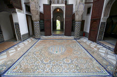 Moroccan indoor architecture Stock Photos