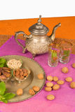 Moroccan ingredients Stock Image