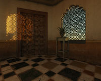 Moroccan Interior Stock Image