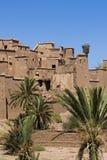 moroccan kasbah Стоковые Фотографии RF