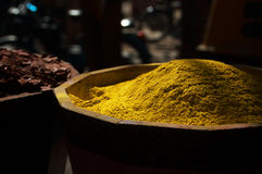 moroccan kryddor Arkivbild