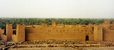 Moroccan ksar Royalty Free Stock Images
