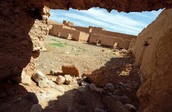 Moroccan ksar Royalty Free Stock Photos