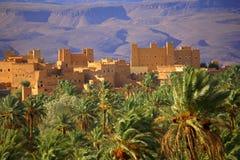 Moroccan ksar Stock Image