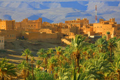 Moroccan ksar Stock Photo