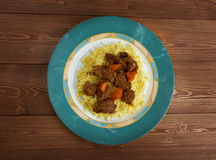 Moroccan Lamb Tagine Royalty Free Stock Image
