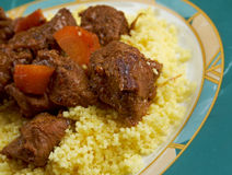 Moroccan Lamb Tagine Royalty Free Stock Photo