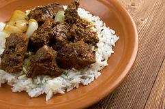 Moroccan Lamb Tagine Stock Images