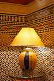 Moroccan lamp Royalty Free Stock Photo