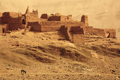 Moroccan landscape Royalty Free Stock Images