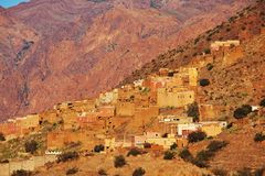 Moroccan landscapes Stock Photography