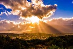 moroccan landskap fotografering för bildbyråer