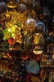 Moroccan light in marrakesh. Moroccan light in old medina marrakesh royalty free stock image