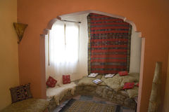 Moroccan living room interior Stock Photography