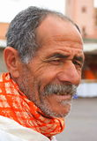 Face of Moroccan man Stock Photography