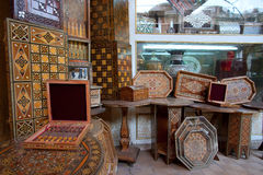 Moroccan market, Damascus Royalty Free Stock Images