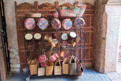 Moroccan Market Royalty Free Stock Photography