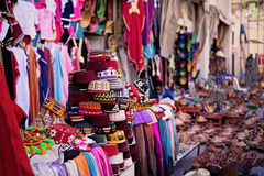 Moroccan market place Royalty Free Stock Photos