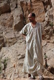 Moroccan men in dades gorges Royalty Free Stock Photos