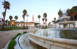moroccan mer tangier för arkitektur Fotografering för Bildbyråer