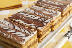 Moroccan mille feuille pastries Royalty Free Stock Photography