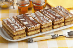 Moroccan mille feuille pastries Royalty Free Stock Photos