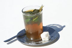 Moroccan mint tea Royalty Free Stock Images