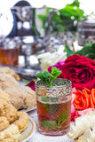 Moroccan mint tea  Stock Images