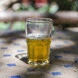 Moroccan mint tea stock image