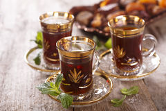 Moroccan mint tea Royalty Free Stock Photography