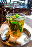 Moroccan mint tea Royalty Free Stock Photo