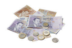 Moroccan money Stock Photos