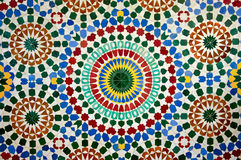 Moroccan mosaic Royalty Free Stock Photos