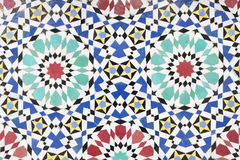 Moroccan mosaic as background Royalty Free Stock Images