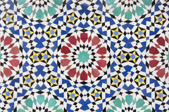 Moroccan mosaic background Royalty Free Stock Image